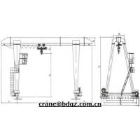 Wholesale BZ Model Column Swing Lever Crane 5ton from china suppliers