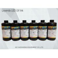 Wholesale Vivid Shiny UV Inkjet Ink Fast Curing For Konica 512 / 1024 Printhead from china suppliers