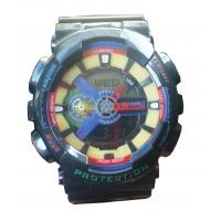 Wholesale G Shock Style PU Band ABS Case Digital-analog Men Sports Watch from china suppliers