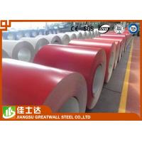 Wholesale ASTM Standard SMP Red Prepainted Steel Coil for Wall , 914mm Width from china suppliers
