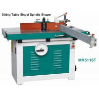 Wholesale woodworking Slidng Table Singel Spindle Shaper from china suppliers