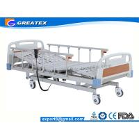 Wholesale 5 Functions Motorized Patient ICU  Hospital Bed With Aluminium alloy Rail Guard from china suppliers