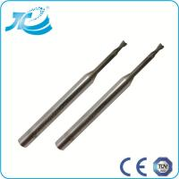 Wholesale Carbide Flat End Mill for Deeper Cutting , 1mm 2mm 3mm End Mill from china suppliers