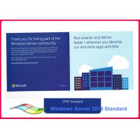 Wholesale Genuine Windows Server 2016 Standard 64bit Operating Systems 100% Activate Online Lifetime Warranty from china suppliers