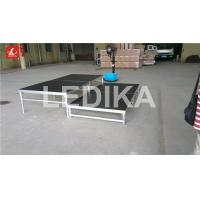 Wholesale Portative Folding Aluminum Stage Platform Catwalk Show Stage Fire - Proof from china suppliers