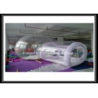 Wholesale 0.8mm Clear PVC Outdoor Inflatable Bubble House with Tunnel from china suppliers