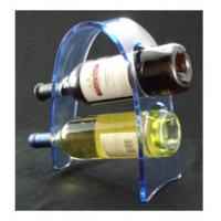 Wholesale Transparent Acrylic Wine Bottle Display Rack , Plexiglass Bottle Holder from china suppliers