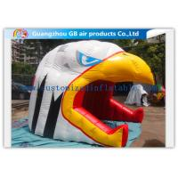 Wholesale Customized Inflatable Air Tent Lively Eagle Head Shape Tunnel With Blower from china suppliers