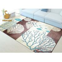 Fashionable Non Skid Backing Area Rugs , Large Living Room Rugs Waterproof