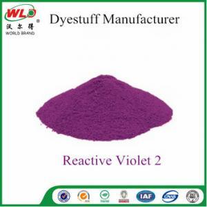 Professional Fabric Dye  Violet PE CI Violet 2A 4 - 5 Lighting Fastness