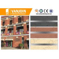 Wholesale Customized Lightweight / Fireproof Wall Tiles With Flexible Clay Material , 1200*600MM from china suppliers