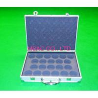 Wholesale Gray EVA Aluminum Equipment Carrying Case With Lock , Silver ABS Panel from china suppliers