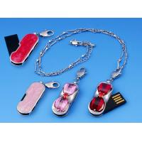 Quality OEM Unique 16GB Metal Jewelry Usb Flash Drives with 12MB/sec Write Speed for sale