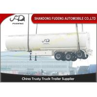 Quality 10000 Gallon Fuel Tanker Semi Trailer , 3 Cabins Gasoline Semi Truck for sale
