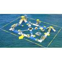 Wholesale Lake Inflatable Water Games For Adults / Bouncia Water Inflatable Park Manufacturer from china suppliers
