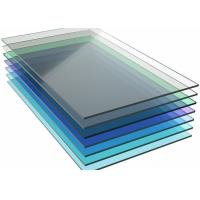 Wholesale Colored Monolithic Polycarbonate Sheet , Pergola Clear Flat Roof Panels from china suppliers