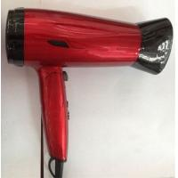 Wholesale Red Color Travel Folding Hair Dryer Lightweight , Mini Hair Dryer For Kids from china suppliers