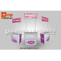 Wholesale Longlasting Beverage Display Racks / Paper display With Unique Printing from china suppliers