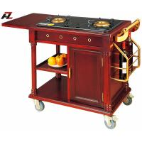 Wholesale Kitchen Flambe Cooking Cart with Air Vents for Restaurant from china suppliers