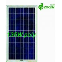 Quality 135W 18V Rated Poly PV Solar Panel For RV / Camping / OFF- grid Solar System for sale