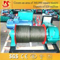 Wholesale High Strength Wirerope Electric Construction Winch from china suppliers