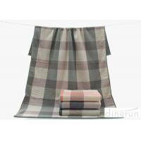Wholesale Plain Pattern Compact Soft Terry 100 cotton bath towels For Children / Adults , 70*140cm from china suppliers