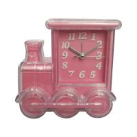 Buy cheap train shape alarm clock for home decoration from wholesalers