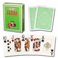 Wholesale XF Modiano Texas Holdem 2 Jumbo Index|light green Single Card Deck|100% Plastic Made in Italy|marked cards in gambling from china suppliers