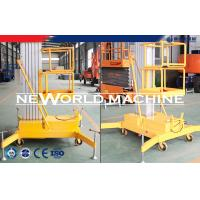 Wholesale 100kg 1.5kw Aerial Work Platform Aerial Lift Safety Superior from china suppliers