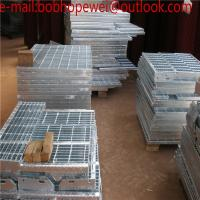 Buy cheap Hot Dipped Galvanized Serrated End Bar Sheet Metal Stainless Steel Grating/Hot-Dipped Galvanized / Driveway Steel gratin from wholesalers