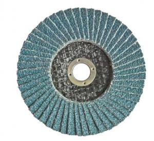 China Zirconia Alumina Flap Disc GRINDING WHEELS-TYPE 27 Abrasive Blaze R980P Coarse Grit Center Mount Plastic Flat Flap Disc on sale