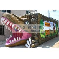 Wholesale Outdoor Thrilling 5D theater system dinosaur box for adults , Mobile Immersive 7D Cinema from china suppliers