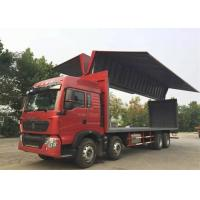 Quality 8X4 LHD Wing Van Cargo Truck Cargo Large Loading Capacity Commercial Vehicles for sale