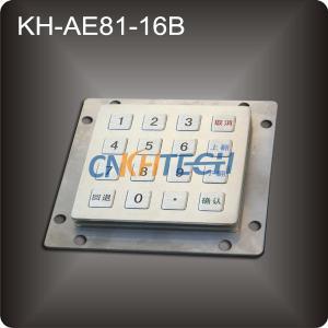 Buy cheap Metal Keys Kiosk Keypad from wholesalers