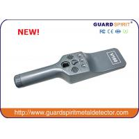 Wholesale 4 Level Sensitivity Hand Held Metal Detector , Mini Super metal Scanner For Security from china suppliers