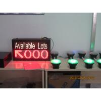 Buy cheap Vehicle LED Parking Guidance and Information System Availability Indicator LED Display from wholesalers