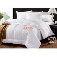 Wholesale Eco Certificate 100% Cotton With Feather Fiber Quilt Hotel Duvet from china suppliers