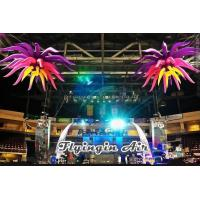 Quality Hanging Inflatable Flower with LED Light for Party and Concert Supplies for sale