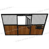 China Professional Red Quarter Portable types of Horse Stable Stall Manufacturer on sale