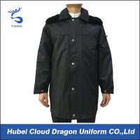 Wholesale Cotton Padded Thicken Security Guard Coats , Police Winter Jackets For Cold Protective from china suppliers