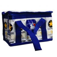 Wholesale Reusable Aluminum Foil Thermal Insulated Bags With Navy Zipper from china suppliers