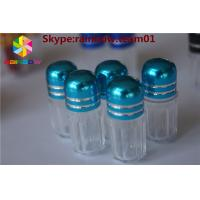 Wholesale rhino7 & rhino 25 empty  capsule shape container clear plastic capsules sex pill bottle container sex pill capsule from china suppliers