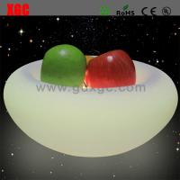Wholesale New Designed PE Material Luminous Fruit Plate For Bar from china suppliers