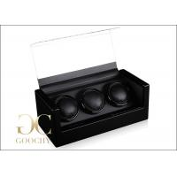 Wholesale Watch Box Winders And Cases / Triple Watch Winder For Automatic Watch from china suppliers