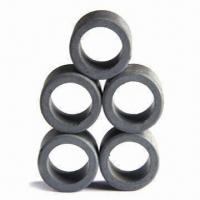 Quality Hard ferrite magnets, diameter direction magnetized for sale