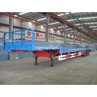 Wholesale Goose Neck-Flat Bed Semi-Trailer from china suppliers