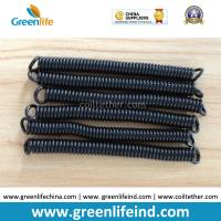 Wholesale Top Quality PU Material Spring Stretchy Coil Strap Rope Black Colour from china suppliers