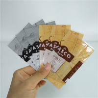 China Plastic Material Food Packaging Films Shrink Wrappers With Custom Logo / Colors on sale