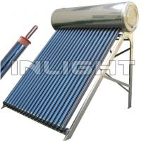 Wholesale ISO 45 Degree Heat Pipe Solar Water Heater Collector With Security Valves from china suppliers