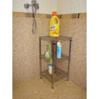 Wholesale 3-Tier Mini Bathroom Corner Rack (HK-CS-1414) from china suppliers